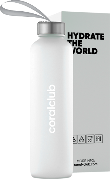 "Į krepšelį Butelis vandeniui ""Hydrate the World"", 500 ml"