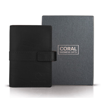 Į krepšelį Business card holder leather black