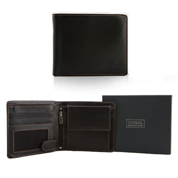 Į krepšelį Men's leather wallet purse