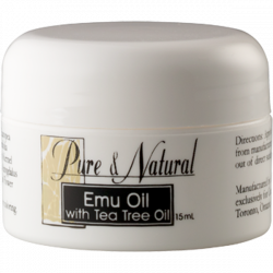 Emu oil with Tea Tree oil