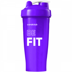 Šeikeris Coral Club Be fit 600 ml violetinis