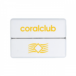 GoBox mini su geltonu Coral Club logotipu
