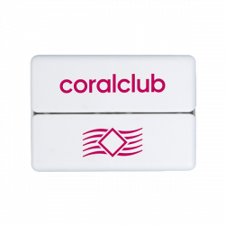 GoBox mini su raudonu Coral Club logotipu